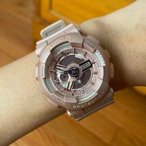 Light pink baby G G-Shock watch